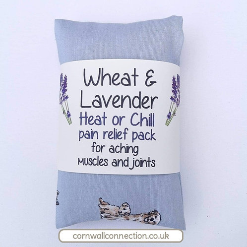 Wheat and Lavender bag - Heat pack/Chill pack - Healing Pain relief DOGS PUPPIES