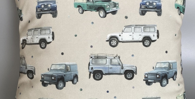 Landrover Cushion cover - Landrovers - Series Landrovers - Landy home decor