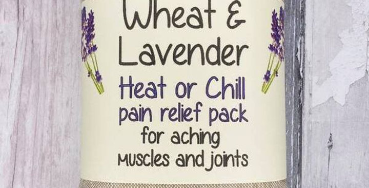 Wheat and Lavender bag - Heat/Chill pack - Healing, Pain relief, Highland cows