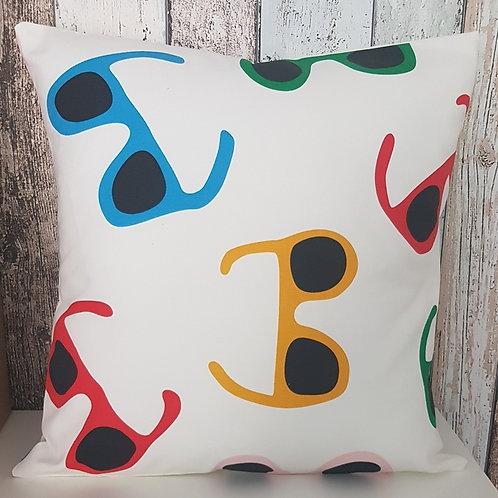 SUNGLASSES cushion cover  - Summer Fun