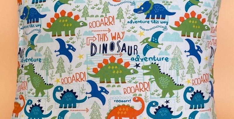Dinosaurs cushion cover - Dinosaurs adventure - Dinosaurs Roar cushion cover