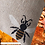 Thumbnail: Wheat & Lavender bag - Heat pack/Chill pack - Healing, Pain relief - Bumble bees