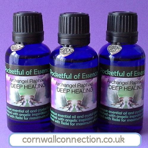 Healing Essential oil blend - Archangel Raphael Deep Healing - Calming -Healing