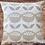 Thumbnail: Scandi Flowers cushion cover - Floral Cushion Cover - Cream & Beige