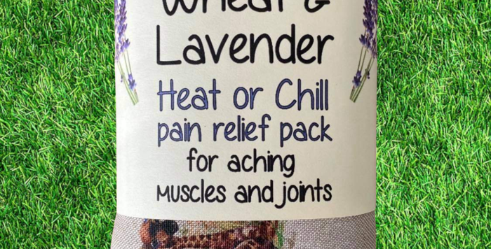 Wheat and Lavender bag - Heat pack/Chill pack - Healing Pain relief GIRAFFES