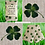 Thumbnail: Wheat and Lavender bag - Heat/Chill pack - Healing, Pain relief, 4 Leaf Clover