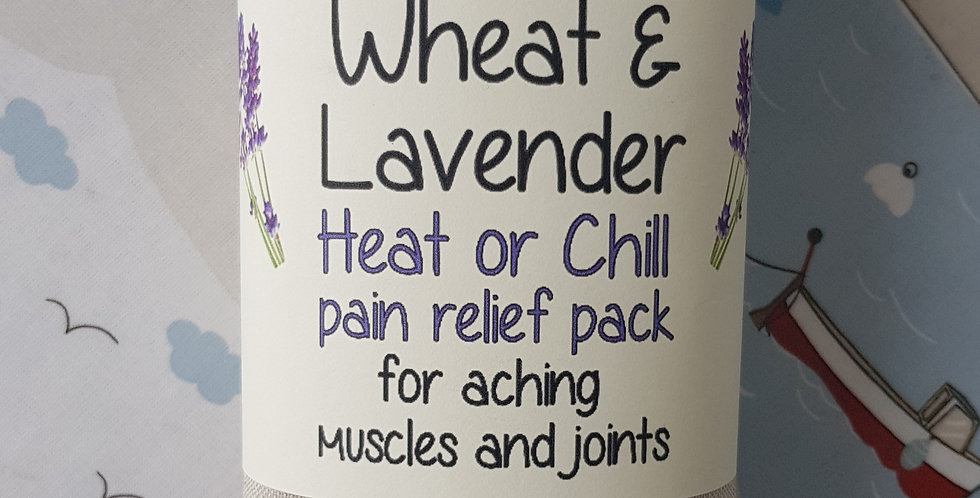 Wheat & Lavender bag - Heat pack/Chill pack - Healing, Pain relief - Bumble bees