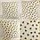 Thumbnail: BEES Cushion cover - Honeycomb Bee print - IVORY -Beehive cushion cover