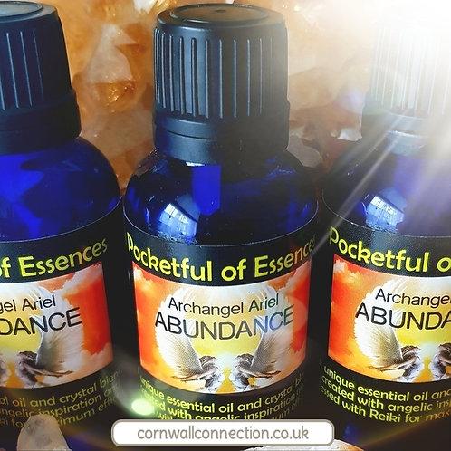 Attracting Abundance Essential oil blend - Archangel Ariel Abundance Essence