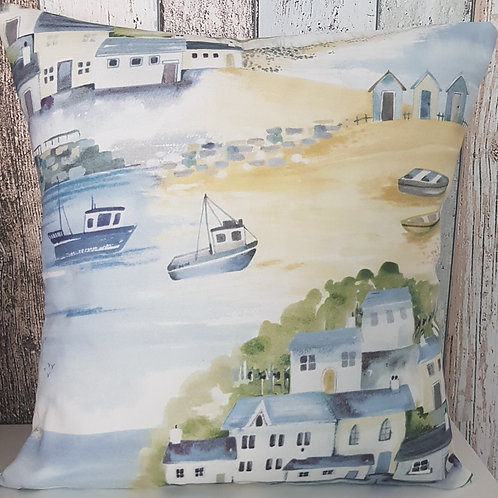 Coastal scene cushion cover  - Beach - Seaside