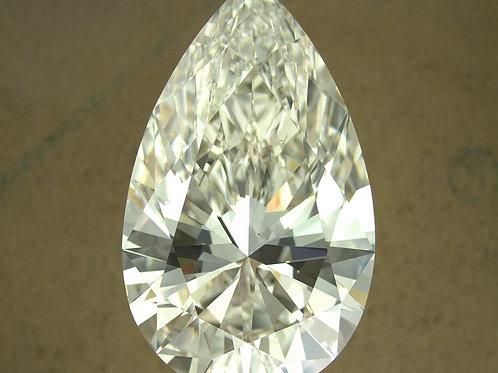 13.32 ct. Diamant im Tropfen-Schliff