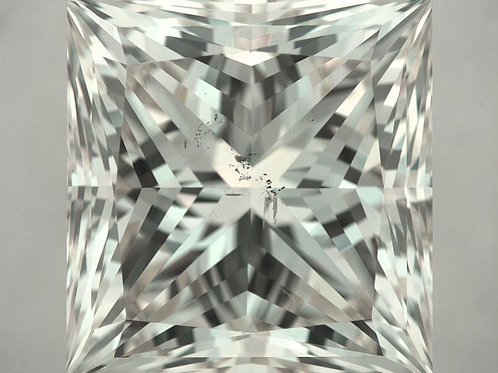 5.03 ct Diamant im Princess-Schliff