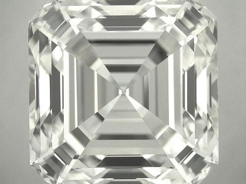 10.02 ct. Diamant im Asscher-Schliff