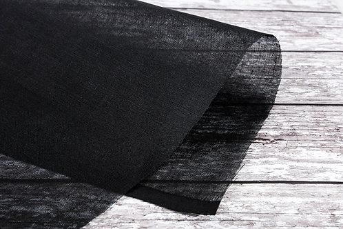 Cotton Tarlatan (Black & White)