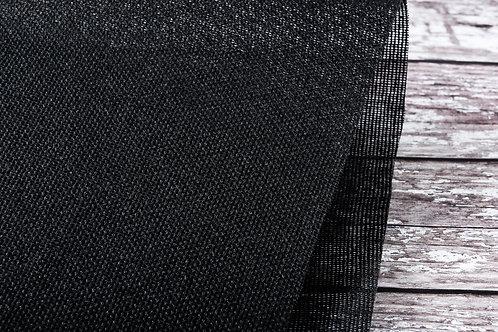 Stiff Cotton Buckram (Black or White)
