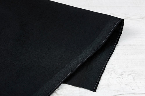 Black Medium Cotton C340 (Flame-Retardant)