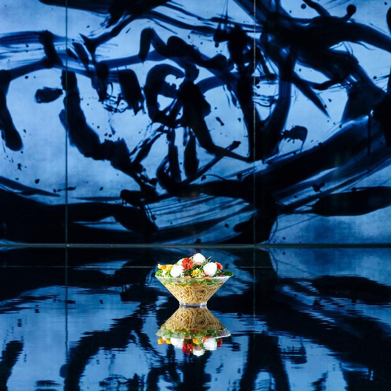 チームラボプラネッツ(東京・豊洲)に、京都発のヴィーガンラーメン店が 本日10月8日オープン。