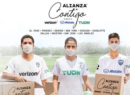 Alianza de Futbol launches Alianza Contigo to support hispanic families