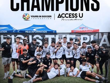 ACCESS U YSF Team wins the 2021 San Diego Surf Cup