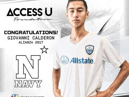 Giovanni Calderon committed to playing for U.S Navy