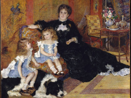 Can you name the dog breed in this Renoir painting?