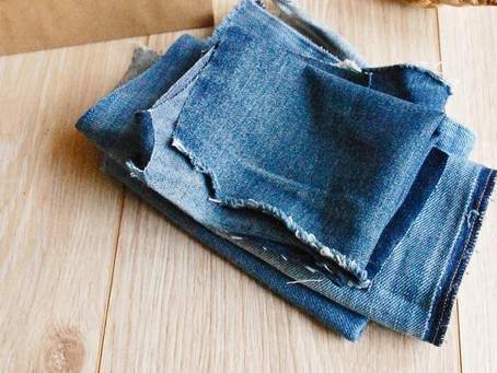 Make a Denim Chew Toy for Pup and a Mask for You