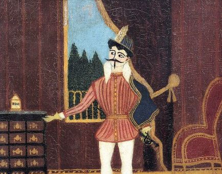 Which French artist painted Don Juan with a black doggie?