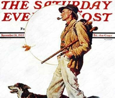 Can you guess which army poster this model posed for in 1938, without his country dog?