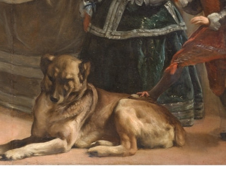 Which famous artist painted this Mastiff ?