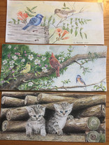 Birds and kittens