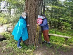 CROP Walk tree huggers