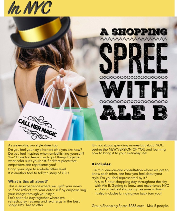 A SHOPPING SPREE with Ale B