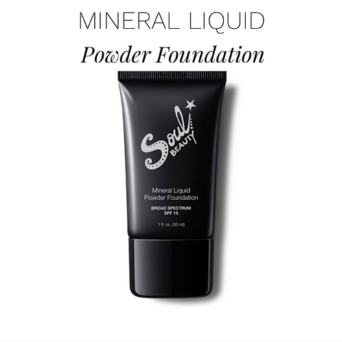 MINERAL LIQUID POWDER FOUNDATION SPF15