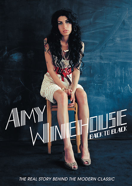 Amy Winehouse - Back To Black - Key Art.
