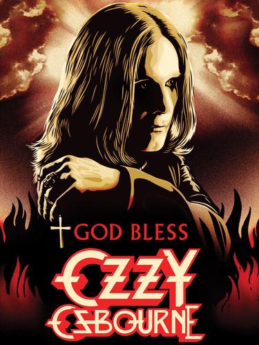 Ozzy Osbourne - God Bless - DVD - Cover.
