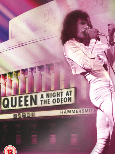 Queen A Night At The Odeon - DVD - Cover
