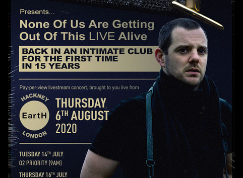 The Streets Announce Exclusive London Club Show To Be Live Streamed On 6th August From EartH Hackney