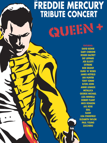 Freddie Mercury - Tribute - DVD - Cover.