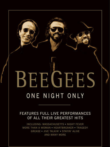 Bee Gees - One Night Only - DVD - Cover.