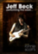 Jeff Beck - Ronnie Scotts - DVD - Cover.