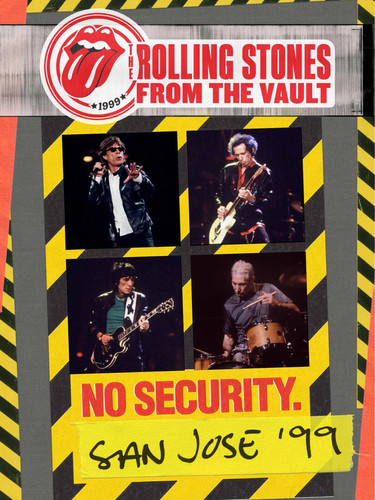 LR Rolling Stones - No Security - DVD -