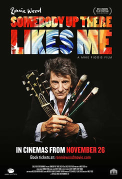 Ronnie Wood Somebody Up There Likes Me Movie