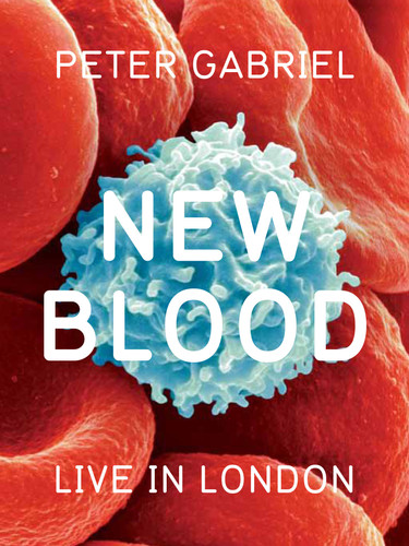 LR Peter Gabriel - New Blood - DVD - Cov