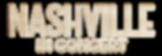 Nashville in Concert Logo