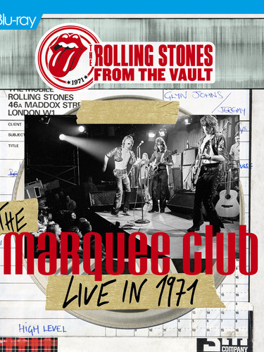 Rolling Stones - Marquee 71 - BR - Cover