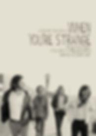 Doors - When Youre Strange - DVD - Cover