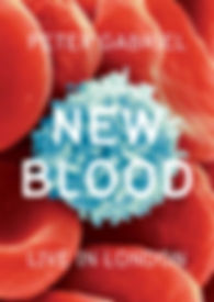 Peter Gabriel - New Blood - DVD - Cover.