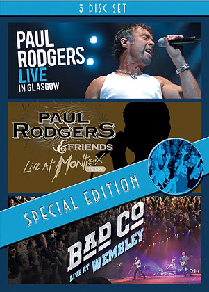 Paul Rodgers - 3 DVD Boxset