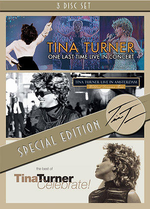 Tina Turner - 3 DVD Boxset