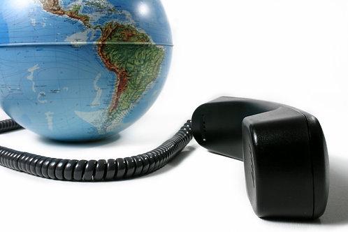 100 minutos de interpretación telefónica